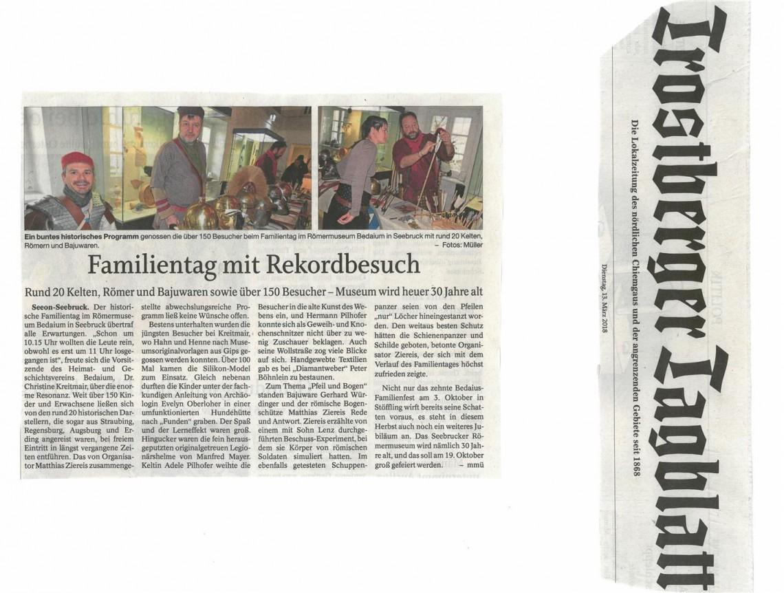 Trostberger tagblatt online dating